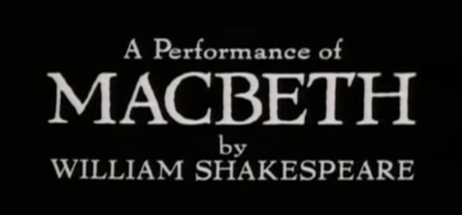 Royal Shakespeare Company | Macbeth (1978)