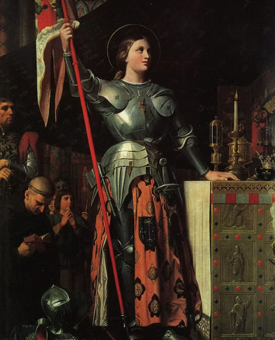 Why does Shakespeare call Joan of Arc Joan La Pucelle?