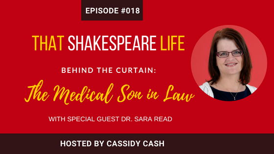 Episode #18:  An Introduction to the Life and Work of Dr. John Hall, Shakespeare's Son in Law | An Interview with Sara Read