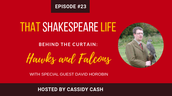 Episode #23: David Horobin Introduces us to the history of Falconry in Shakespeare's lifetime