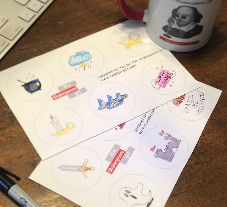 How to Shakespeare: Design Your Own Macbeth Stickers