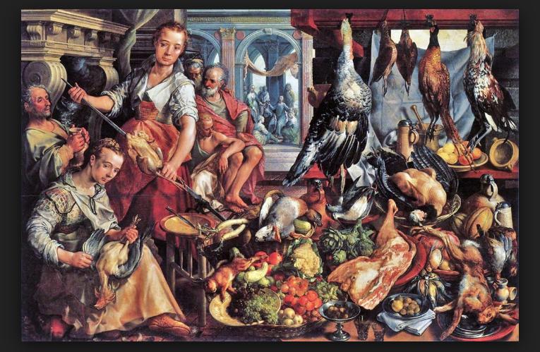 Did Shakespeare Eat Turkey?