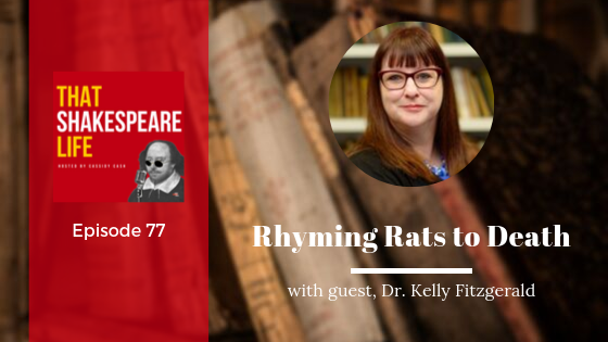 Ep 77: Irish Poetry Killing Rats with Kelly Fitzgerald