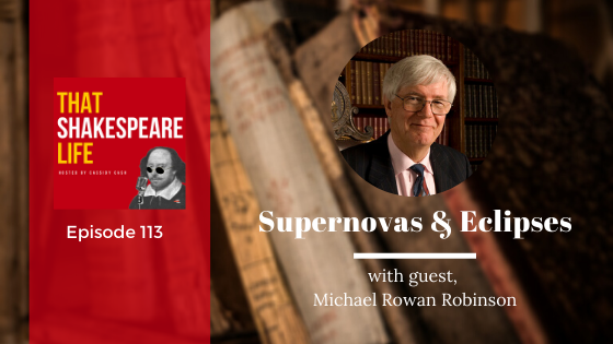 Ep 113: Supernovas and Eclipses with Michael Rowan Robinson
