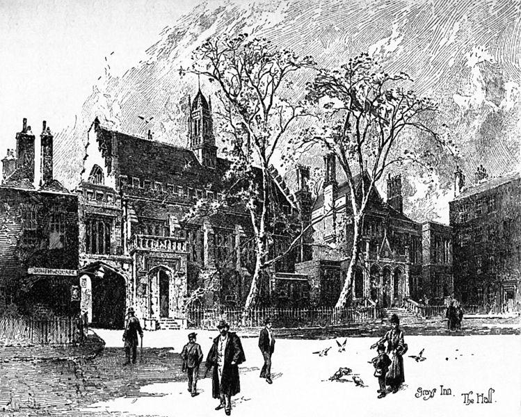 Gray's Inn Illustration