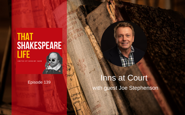 Ep 139: Christmas at Gray's Inn with Joe Stephenson