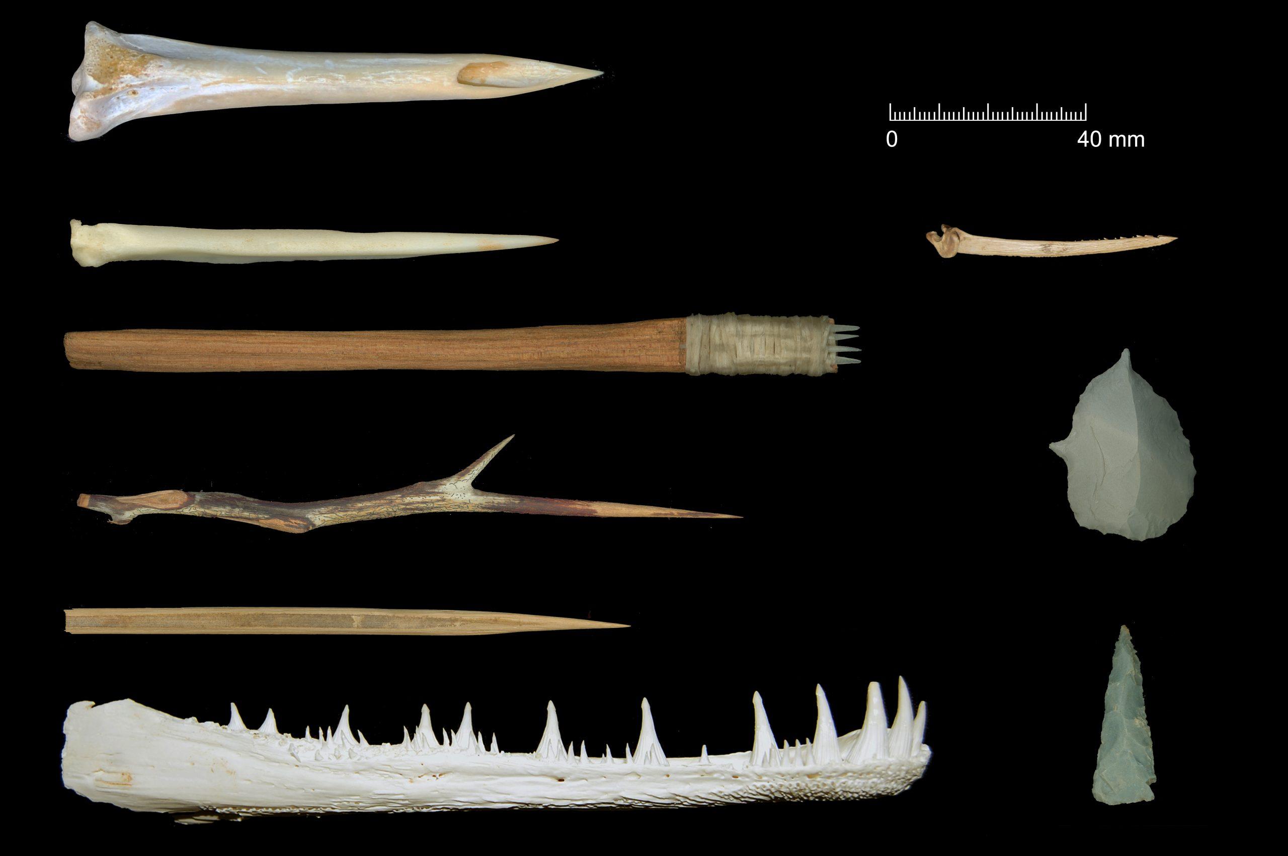 Replica Tools Tattoo Needles Native American 16th C